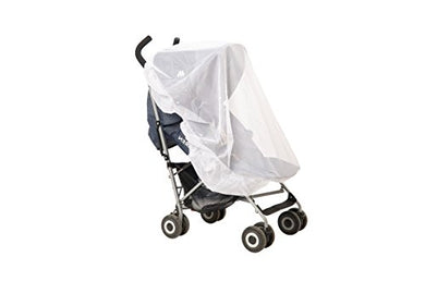 Strollers Net For Indoor &Amp; Outdoor Use, Insect Safety Netting, Mosquito, Bee, Bug Net, Fits Most Strollers And Bassinets, Breathable And Comfortable For Baby, Elastic For Secure Fit, Color White