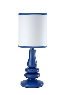 Little Love By Nojo Separates Collection Lamp And Shade, Navy/White