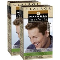 Clairol Natural Instincts For Men Hair Color, Light Brown (M9), 2 Pk Sold By Hero24Hour Thank You