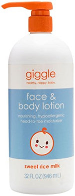 Giggle Face &Amp; Body Lotion - 32 Fl Oz
