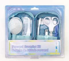 10 Piece Personal Grooming Kit With Travel Case!