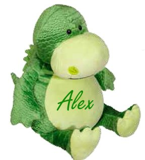 Childrens Pillows Name Embroidered Personalzied Gifts Dinosaur Childrens Baby Gifts