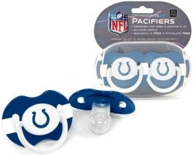 Indianapolis Colts Pacifiers - 2 Pack, Catalog Category: Nfl