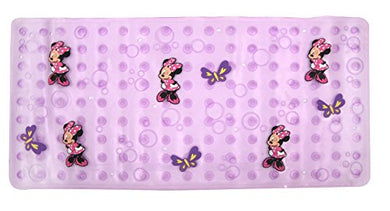 Disney Minnie Mouse Bowtique  Dimensional Bath Mat, Purple