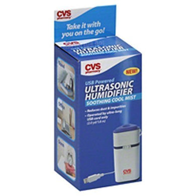 Ultrasonic Humidifier Soothing Cool Mist By Cvs