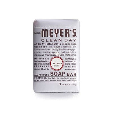 Mrs. Meyers Lavender Bar Soap