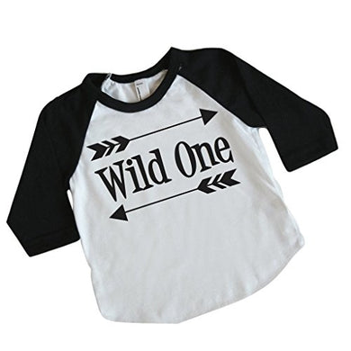 Boy First Birthday Outfit, First Birthday Shirt, Wild One Shirt (6-12 Months)