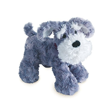 Bedtime Originals Plush Gray/White Dog Stuffed Animal - Whiskers