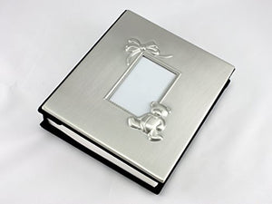 Skyway Keepsake Baby Photo Picture Frame Album Silver - Engravable