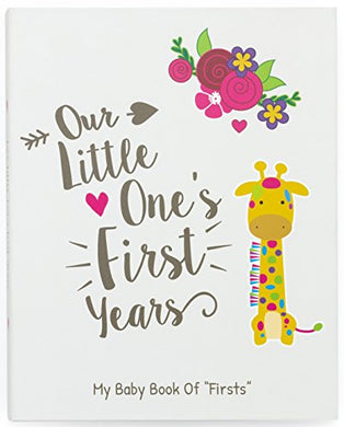 Ronica First Year Baby Memory Book &Amp; Baby Journal - Modern Baby Shower Gift &Amp; Keepsake For New Parents To Record Photos &Amp; Milestones - Five Year Scrapbook &Amp; Picture Album For Boy &Amp; Girl Babies