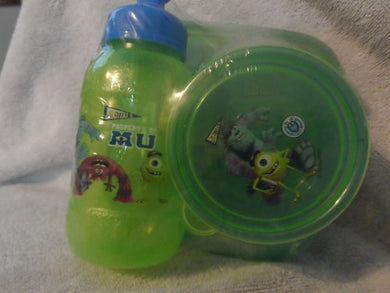 Monsters University 3 Piece Lunch Set