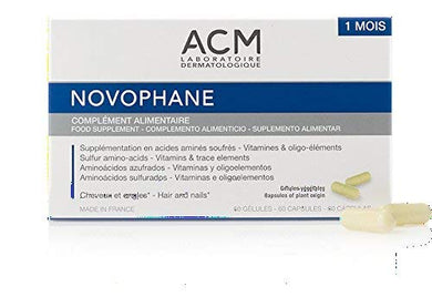 Acm Laboratoire Novophane Caps Anti Hair Loss Alopecia Treatment Nails Fragility Skin Capital