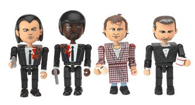 The Cleanup Scene Pulp Fiction Block Style Action Figures Set Ge-Oms (Neca)