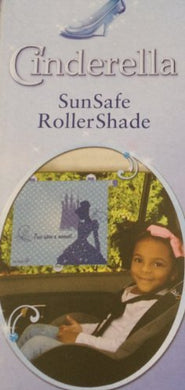 Disney Princess Cinderella Auto Sunsafe Roller Shade Shades For Baby/Toddler 14 Wide