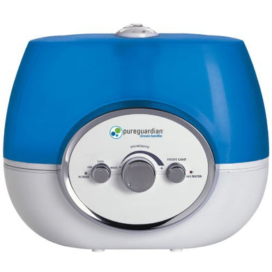 Pureguardian H1510 100-Hour Ultrasonic Warm And Cool Mist Humidifier, 1.5-Gallons