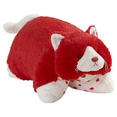 My Pillow Pets Love Kitty - Large (Red And White)