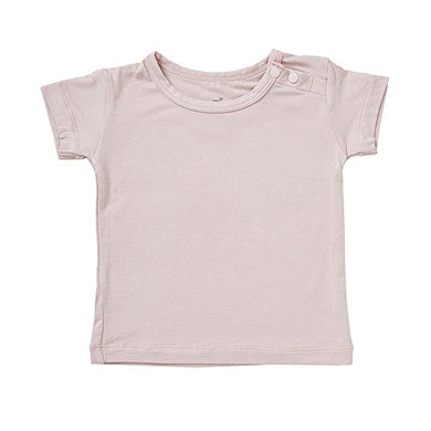 Boody Body Baby Ecowear T-Shirt - Soft Cooling Infant Tee Made From Natural Organic Bamboo - Soft Breathable Eco Fashion For Sensitive Skin - Rose Pink, 3-6 Months