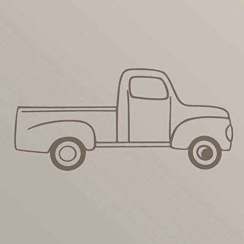 Sweet Potato Traffic Jam Vinyl Decal, Truck
