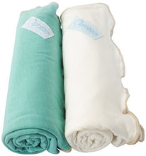 Load image into Gallery viewer, Primo Bebitza Antibacterial Baby Wraps, Teal Green/White