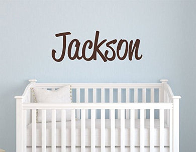 Boys Nursery Personalized Custom Name Vinyl Wall Art Decal Sticker 50  W, Boy Name Decal, Boys Name, Nursery Name, Boys Name Decor Wall Decals, Boy'S Bedroom Decor, Plus Free 12  Hello Door Decal