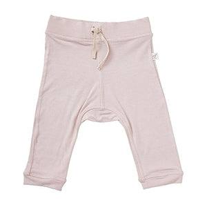 Boody Body Baby Ecowear Pull On Pant - Soft Drawstring Infant Pants Made From Natural Organic Bamboo - Soft Breathable Eco Fashion For Sensitive Skin - Rose Pink, 3-6 Months