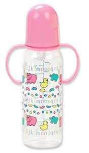 Twin Handle Nurser Bottle (Colors And Styles May Vary)