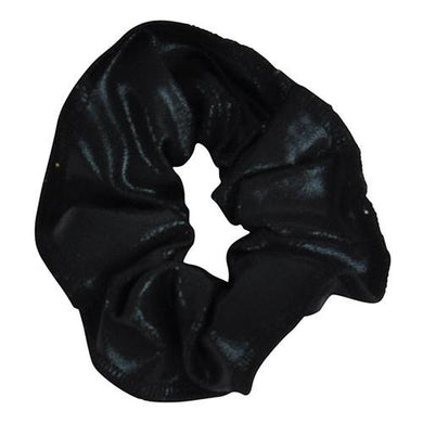 Obersee Kids Hair Tie Scrunchie, Black, One Size