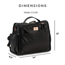 Load image into Gallery viewer, Jujube Limited Edition Classical Convertible Diaper Bag - Black Rose