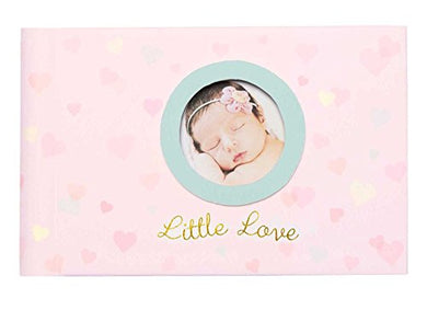 C.R. Gibson Little Love Grandma'S Brag Book Small Photo Album Baby Book For Baby Girl, 20 Pages, 4.5'' X 7.25''
