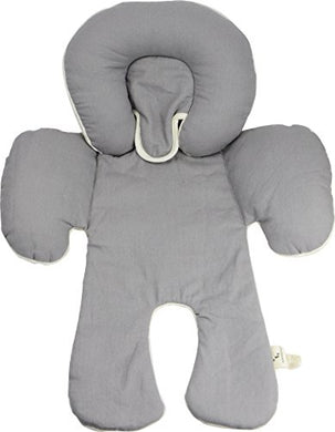 Dordor &Amp; Gorgor Cuddleme Infant Head Support With Organic Cotton, 2-In-1 Reversible, Gray