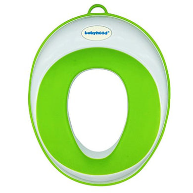 Potty Seat - Kids Toilet Training Ring For Boys Or Girls - Secure Non-Slip Surface Green