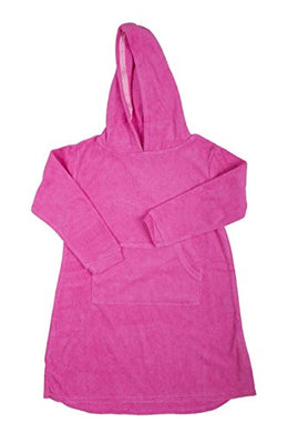 Uh-Oh! Hooded Towel Top Pink 10-12 Years