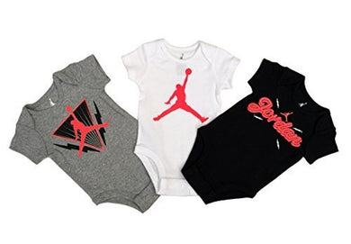 Nike Michael Jordan Infant Layette Bodysuit 3 Pcs Sets 6/9 Months