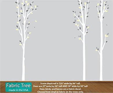Yellow Nuresry Tree Decal, Baby Wall Decals, Babys Room