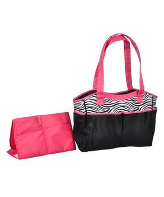 Baby Essential Zebra Print Diaper Bag By Baby Essential