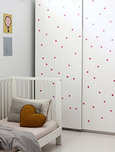 Load image into Gallery viewer, Wee Gallery Weecals, Easy To Peel Removable Wall Art Decals For Baby'S Nursery - Hot Pink Dots
