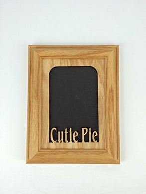 Northland Frames And Gifts Inc - Cutie Pie Oak Picture Frame And Oak Matte V 5X7