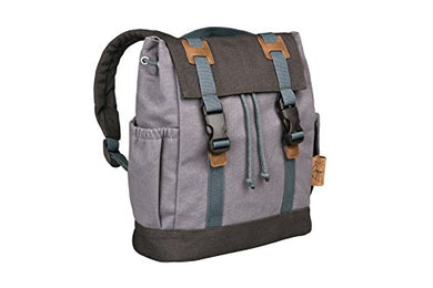 Lassig Kids Vintage Little One &Amp; Me Backpack, Small, Grey