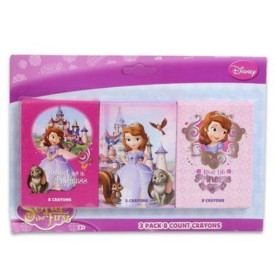 Princess Sofia The First Crayons  8 Crayons Styles May Vary