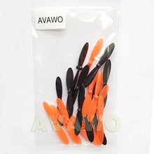 Load image into Gallery viewer, Avawo Propeller Blades Props Rotor 5X Combo Propellers For Hubsan X4 H107 H107D H107C H107L Quad - Orange+Black Color: Orange+Black Model: