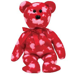 Ty Beanie Babies Cupid'S Bow - Bear (Borders Exclusive)