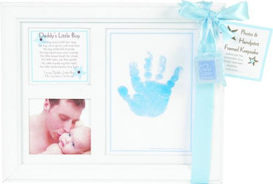 The Grandparent Gift Co. Keepsake Frame, Daddy'S Little Boy