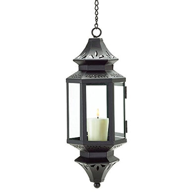 Elegant Crystals Victorian Intricate Hanging Moroccan Candle Lantern Royal Jewel