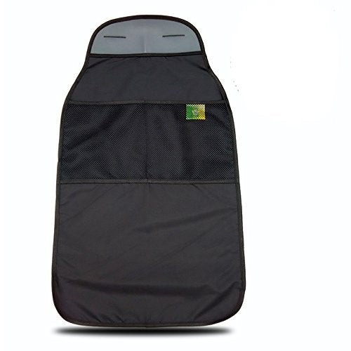 2 Count Kick Mats Car Seat Back Protector - Black