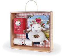 Load image into Gallery viewer, Apple Park Baby Gift Crate, Lamby