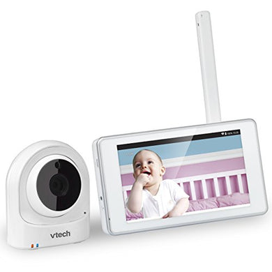Vtech Vm981 Wireless Wifi Video Baby Monitor With Remote Access App, 5-Inch Touch Screen, Remote Access 10X Digital Zoom, Motion Alerts &Amp; Support For Up To 10 Cameras
