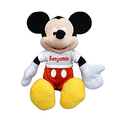 Personalized Licensed Disney'S Plush Toy - 18 Inch (Mickey Mouse)
