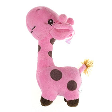 Lookatool Giraffe Dear Soft Plush Toy Animal Dolls Baby Kid Birthday Party Gift (Pink)
