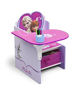 Delta Children Chair Desk With Storage Bin, Disney Frozen