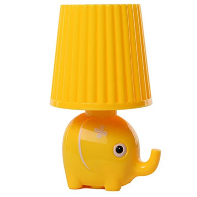 Baby Led Plug In Animal Cartoon Sensor Night Light For Kids Toddler By Smartdude (Yellow Elephant)